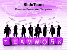 Business Strategy Diagram Templates Teamwork Finance Download Ppt Powerpoint