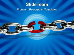 Business Strategy Execution Templates Weakest Link01 Chains Ppt Slides Powerpoint