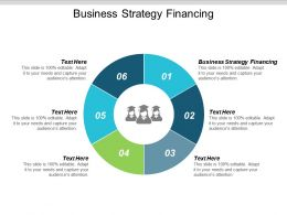 Business Strategy Financing Ppt Powerpoint Presentation Gallery Gridlines Cpb