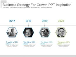 Business Strategy For Growth Ppt Inspiration