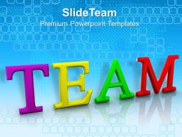 Business Strategy Formulation Powerpoint Templates Team Success Growth Ppt Slide Designs