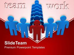 Business Strategy Formulation Team Follows Leader Marketing Ppt Themes Powerpoint