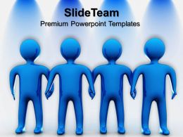 Business Strategy Formulation Templates Team Unity Teamwork Diagram Ppt Powerpoint