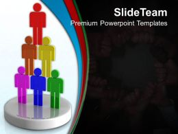 Business Strategy Formulation Templates Teamwork Unity Diagram Ppt Design Powerpoint