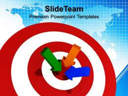 Business Strategy Game Templates Target Success Company Ppt Presentation Powerpoint