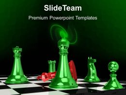 Business Strategy Game Templates Winner Defeat Red King Success Editable Ppt Slides Powerpoint