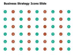 Business Strategy Icons Slide Growth Ppt Powerpoint Presentation Portfolio Styles