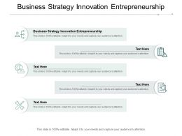 Business Strategy Innovation Entrepreneurship Ppt Powerpoint Presentation Show Graphics Cpb