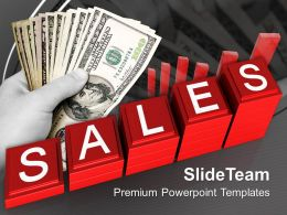 Business Strategy Innovation Powerpoint Templates Increasing Sales Money Ppt Slides