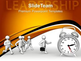 Business Strategy Innovation Templates Leadership And Time Concept Ppt Themes Powerpoint