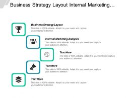 Business Strategy Layout Internal Marketing Analysis Company Planning Process Cpb