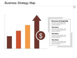 Business Strategy Map Ppt Powerpoint Presentation Infographic Template Outline Cpb