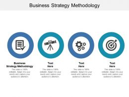 Business Strategy Methodology Ppt Powerpoint Presentation Gallery Example File Cpb
