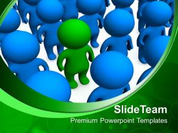Business Strategy Model Powerpoint Templates Be Different Leadership Ppt