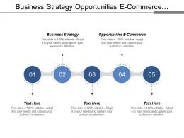 Business Strategy Opportunities E Commerce Investment Banking Web Management Company Cpb