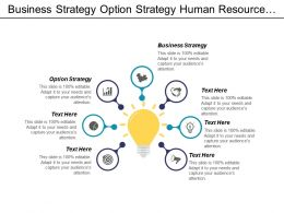 Business Strategy Option Strategy Human Resource Management Planning Cpb