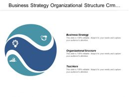 Business Strategy Organizational Structure Crm Technology Technology Trends Cpb