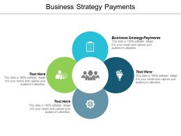 Business Strategy Payments Ppt Powerpoint Presentation Gallery File Formats Cpb