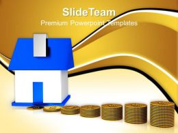Business Strategy Planning Powerpoint Templates House And Money Ppt Templte