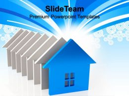 Business Strategy Planning Powerpoint Templates Houses Real Estate Sale Ppt Slides