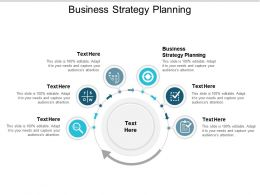 Business Strategy Planning Ppt Powerpoint Presentation Styles Influencers Cpb
