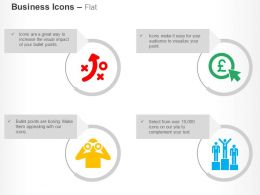 Business Strategy Pound Selection Opportunity Winner Ppt Icons Graphics