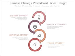 Business Strategy Powerpoint Slides Design