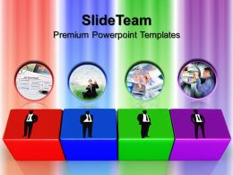 Business Strategy Powerpoint Templates Blocks Success Ppt Process