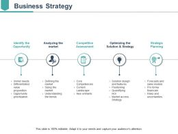 Business Strategy Ppt Infographic Template