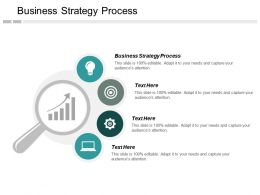 Business Strategy Process Ppt Powerpoint Presentation Inspiration Diagrams Cpb