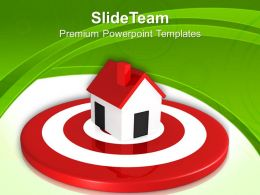 Business Strategy Process Templates Home Target Real Estate Download Ppt Theme Powerpoint
