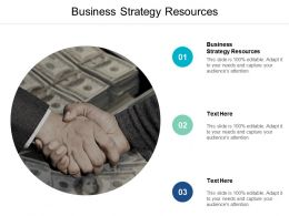 Business Strategy Resources Ppt Powerpoint Presentation File Show Cpb