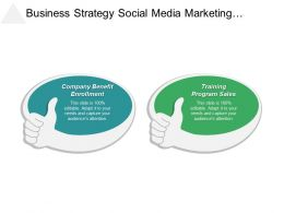 Business Strategy Social Media Marketing Global Strategic Management Cpb