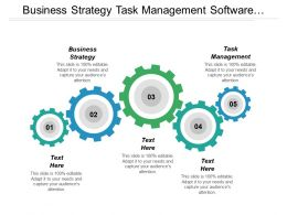 Business Strategy Task Management Software Management Logistics Management Cpb
