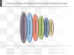Business Strategy Template Powerpoint Slides Background Image