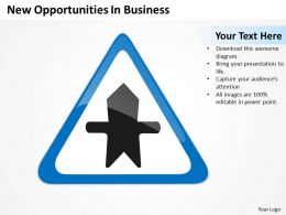 Business Structure Diagram New Opportunities Powerpoint Templates 0515