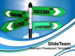 Business Structure Presentation Failure Loss Leadership Ppt Design Slides Powerpoint
