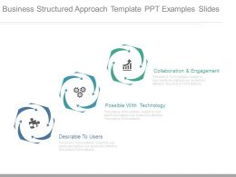Business Structured Approach Template Ppt Examples Slides