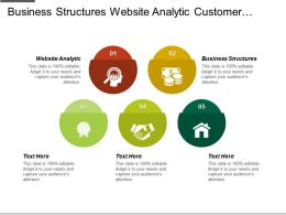 Business Structures Website Analytic Customer Management Environment Learning