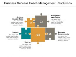 Business Success Coach Management Resolutions Business Communication Corporate Failure Cpb