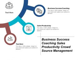 Business Success Coaching Sales Productivity Crowd Source Management Cpb