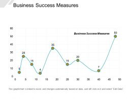 Business Success Measures Ppt Powerpoint Presentation Layouts Layouts Cpb