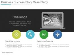 Business Success Story Case Study Powerpoint Slide Designs