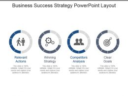 Business Success Strategy Powerpoint Layout