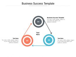 Business Success Template Ppt Powerpoint Presentation File Styles Cpb