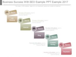 Business Success With Seo Example Ppt Example 2017