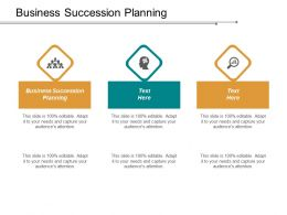 Business Succession Planning Ppt Powerpoint Presentation Model Diagrams Cpb
