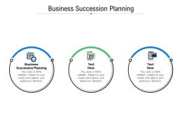 Business Succession Planning Ppt Powerpoint Presentation Slides Example Cpb