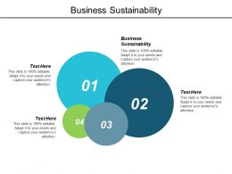 Business Sustainability Ppt Powerpoint Presentation Example File Cpb