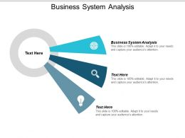 Business System Analysis Ppt Powerpoint Presentation Ideas Outline Cpb
